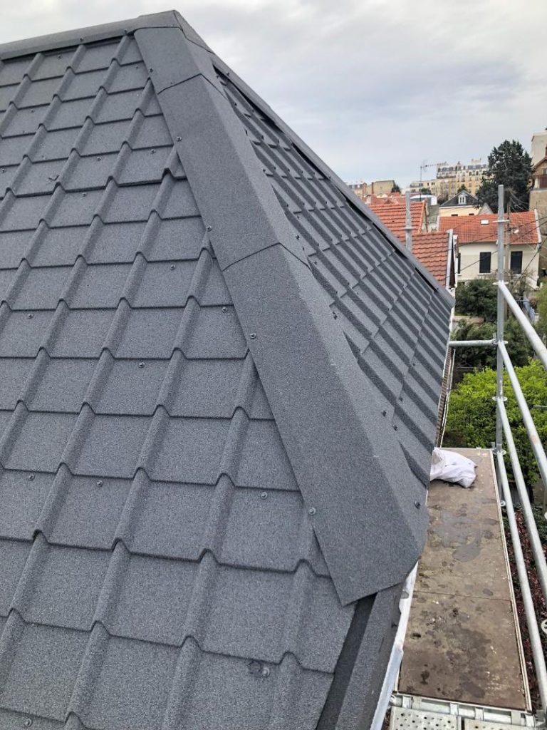 Comment Poser Des Ardoises couverture toiture en ardoise à colombes ( hauts-de-seine )